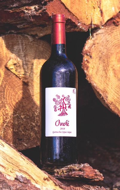Vino de garnacha Oinoké 2018 - Bodegas Camiruaga